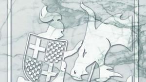 Tabàrnia ja té el seu escut oficial: sant Jordi domant el drac 'indepe'