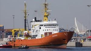 Gibraltar retira els permisos a l''Aquarius'