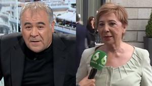 El missatge d'Antonio García Ferreras a Celia Villalobos després de la dimissió de Carmen Montón