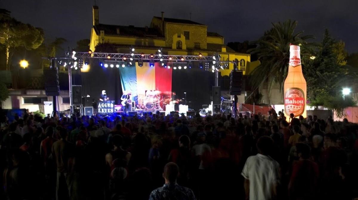 Imagen de la edición del 2009 del festival Nowa Reggae en el Molí de Mar de Vilanova i la Geltrú.
