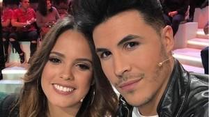 Gloria Camila y Kiko Jiménez gastan una broma fingiendo su ruptura.