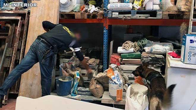 La Guardia Civil detiene a un lider del narcotráfico en Algeciras.