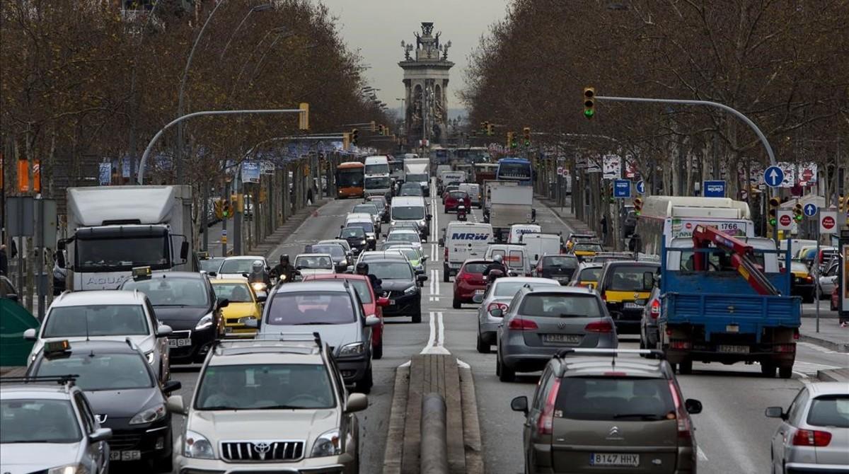 El desafío del veto a los coches en Barcelona
