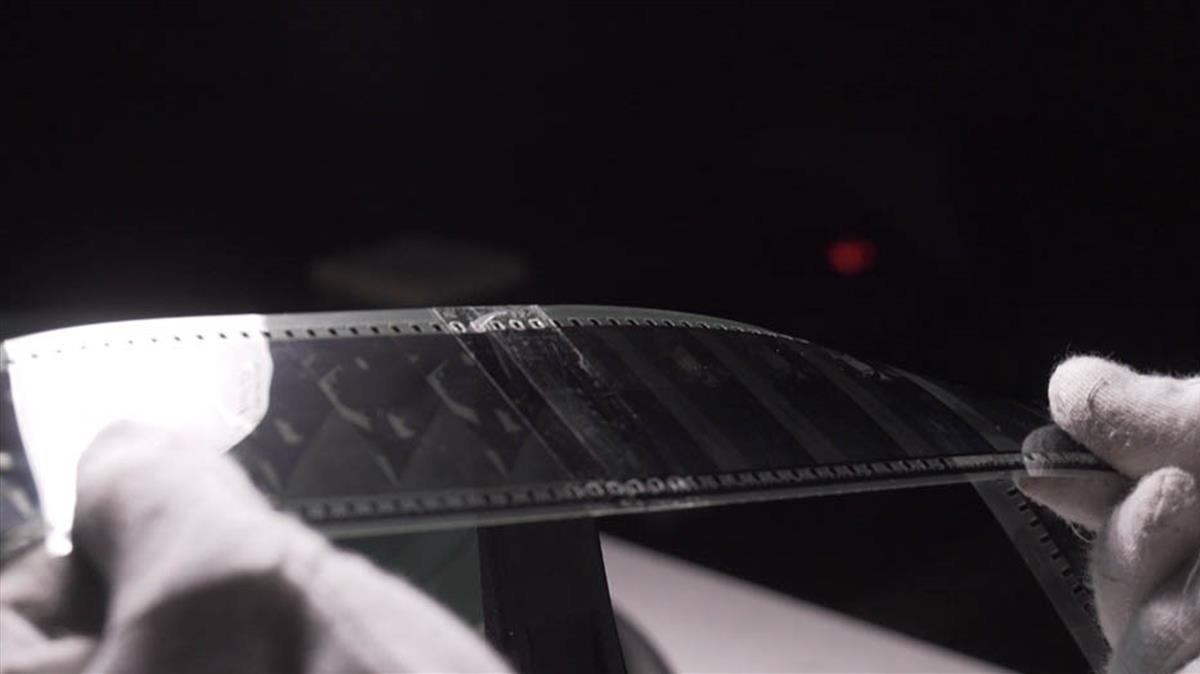 Imágenes del proceso de montaje de la pelicula 'Dunkerque'en 70 mm