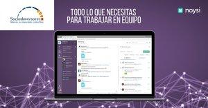 Interfaz de la plataforma Noysi para entornos profesionales.