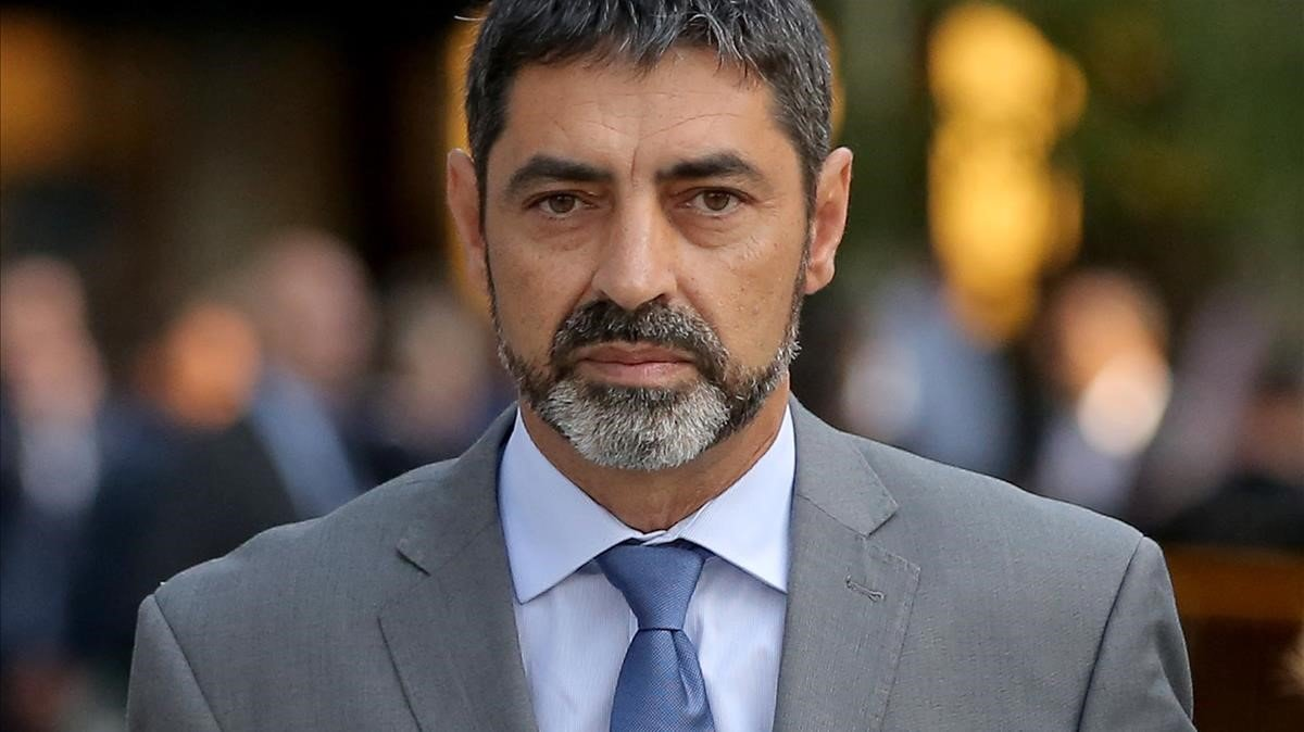 El 'major' de los Mossos Josep Lluís Trapero, que declaró este jueves en el juicio del 'procés', en una imagen de archivo.