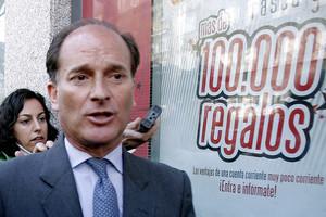 Jesús Sepúlveda, a la salida de la Audiencia Nacional, en el 2009.