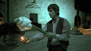 Joel Bosqued, en una secuencia de 'Tierra de lobos'.