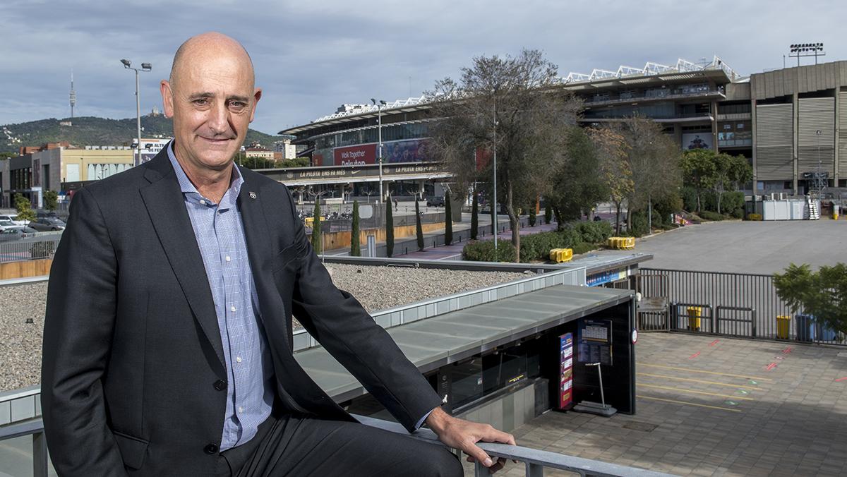 El vicepresidente económico del FC Barcelona, Jordi Moix,aclara las dudas sobre la financiación del Espai Barça