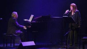 José María Vitier, al piano, con Maria del Mar Bonet, el viernes.