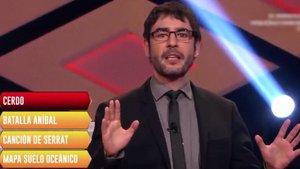 """La 'promo' de 'Pasapalabra' en 'Boom' por el error de un concursante: """"¡Tarjeta amarilla!"""""""