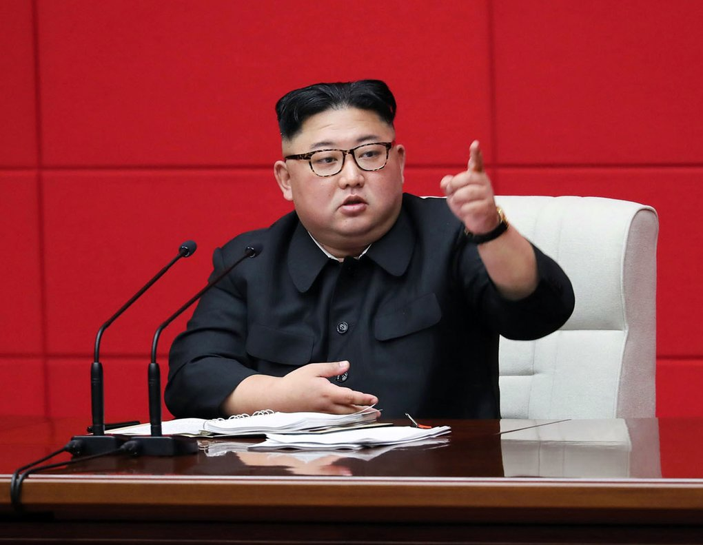 Kim Jong-un, líder de Corea del Norte. AP