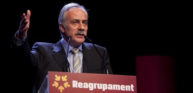 El líder de Reagrupament, Joan Carretero.