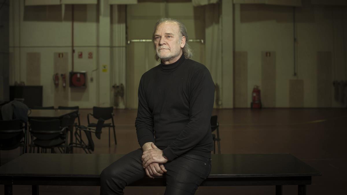 Lluís Homar, en una imagen promocional de La néta del senyor Lihn