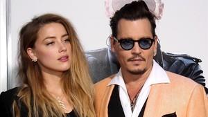 Amber Heard y Johnny Depp, en septiembre del 2015.