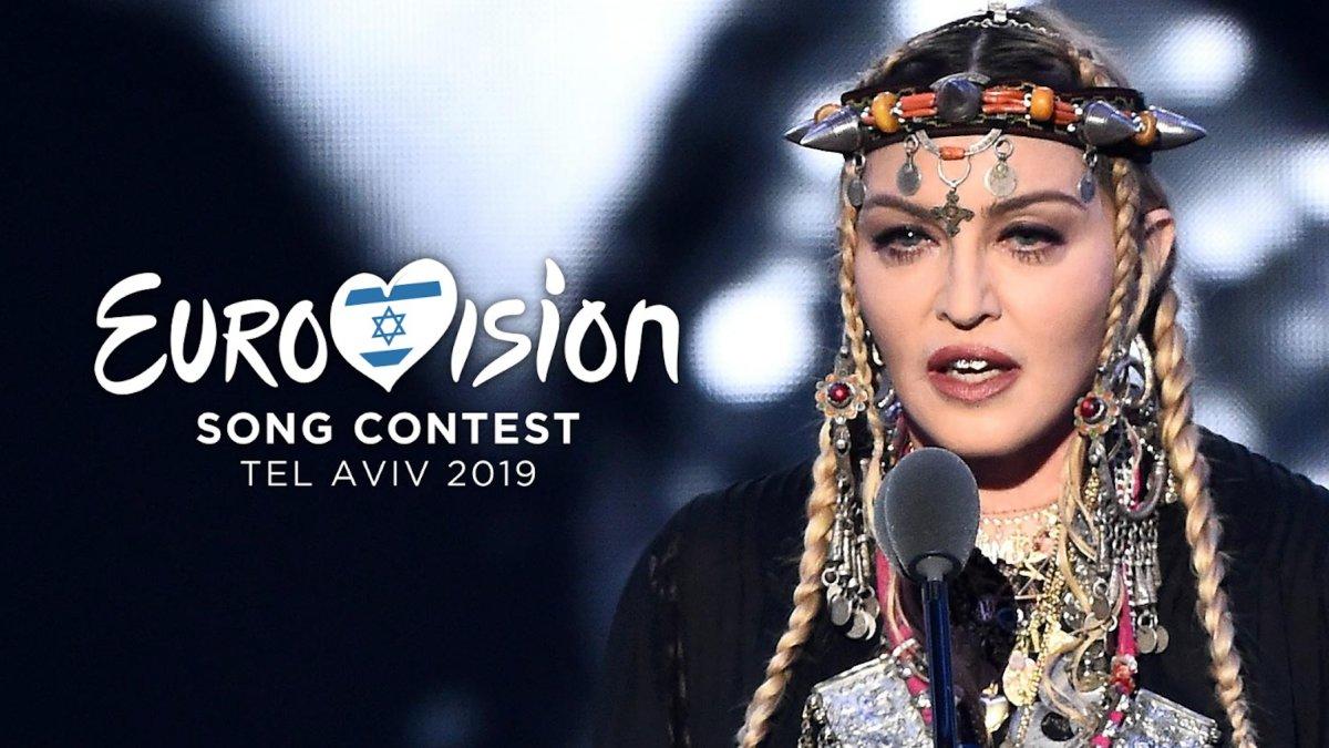 Madonna, la estrella internacional que actuará en la gran final de Eurovisión 2019.