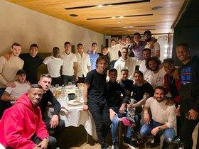 Bale acudeix per primera vegada al sopar de jugadors des del 2013