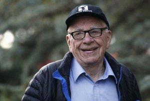 El magnate Rupert Murdoch, en una imagen de archivo.