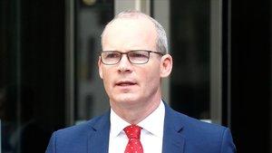 El viceprimer ministro y ministro de Exteriores de Irlanda, Simon Coveney.