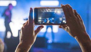 El móvil del concierto
