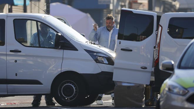 La Policía Metropolitana confirmó hoy la muerte de una persona en el atropello de fieles musulmanes.