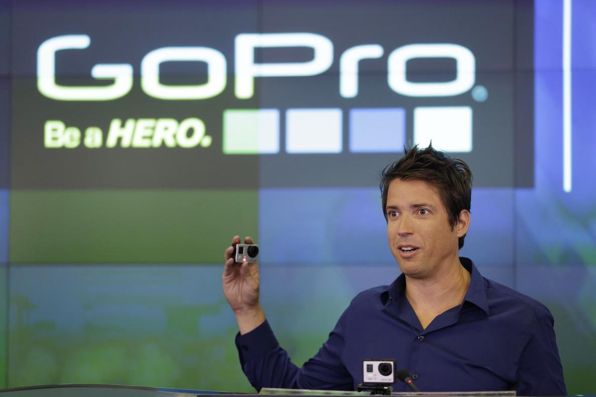 El consejero delegado dGoPro, Nick Woodman.