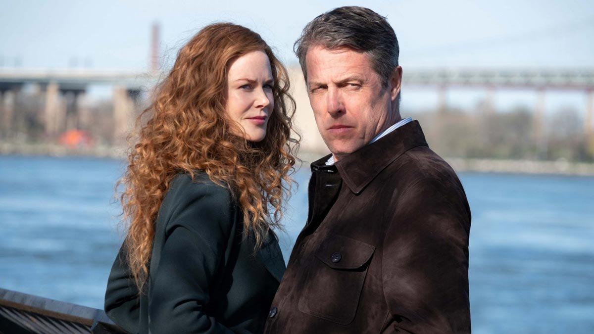 Nicole Kidman y Hugh Grant, en 'The undoing'.