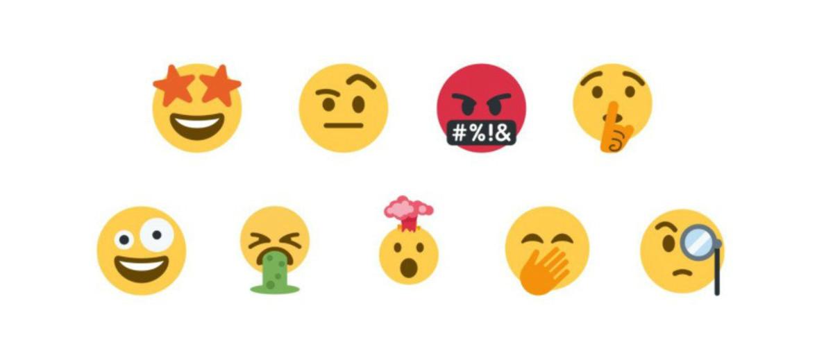 Nuevos emojis de Twitter.