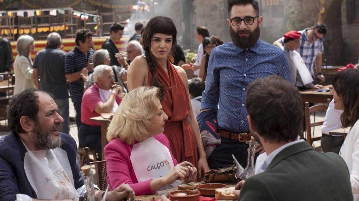 Dani Rovira y Clara Lago protagonizan 'Ocho apellidos catalanes' en Telecinco