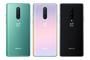 OnePlus 8 en las tres versiones de color.