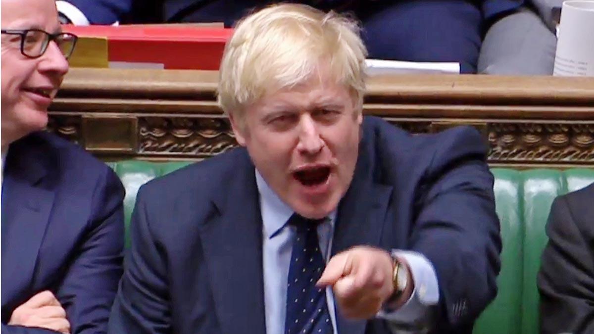 El Parlamento británico veta el 'brexit' duro de Johnson.