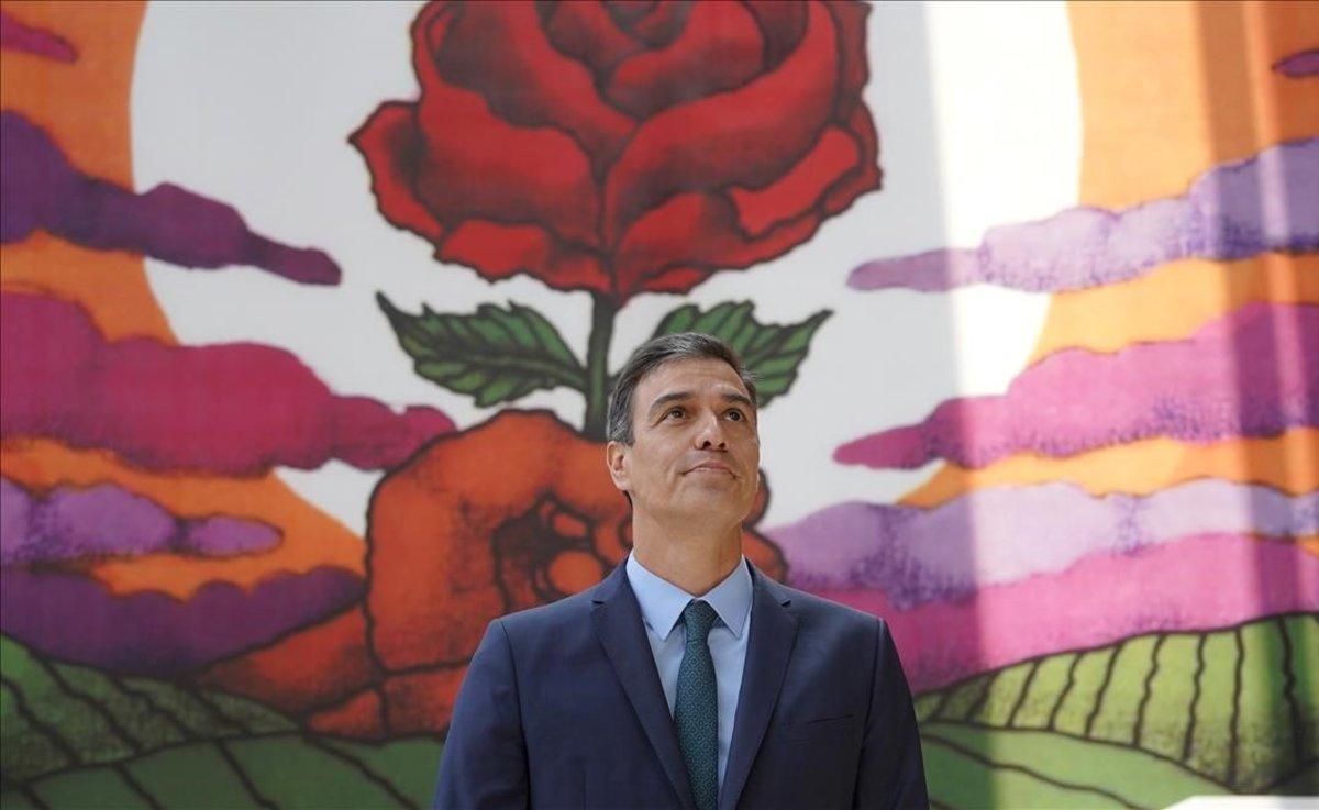 Sánchez inicia ronda de contactos el martes para su investidura