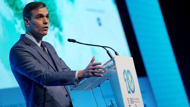 Pedro Sánchez en Exceltur