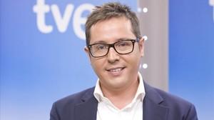 El periodista de TVE Sergio Martín.