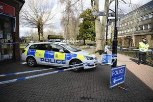 Salisbury United KingdomPolice stand behind a cordon in Salisbury Britain 06 March 2018 reissued 16 September 2018 According to reports Police has sealed off a Prezzo restuarant in Salisbury and surroundings following an incident in which two people a man and a woman were taken ill The town was in the spotlight earlier in 2018 when former Russian spy Sergei Skripal and his daughter Yulia became seriously ill in Salisbury after allegedly being exposed to novichok nerve agent Rusia EFE EPA NEIL HALL