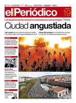 La portada de EL PERIÓDICO del 19 de octubre del 2019