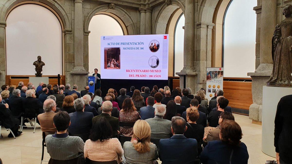 Moneda conmemorativa del bicentenario del Museo del Prado - El Periódico
