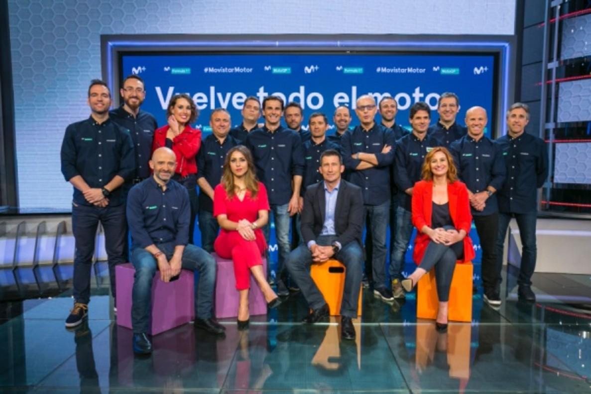 El motor vuelve a Movistar+ con la incorporación de Antonio Lobato y Randy Mamola
