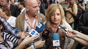 La presidenta de la asociación de víctimas Covite, Consuelo Ordóñez.