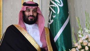 El príncipe saudí, Mohamed bin Salmán, fotografiado en su encuentro con el presidente tunecino el pasado 27 de noviembre.
