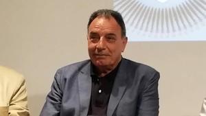 El profesor y escritor Miquel Berga en la Llibreria 22.