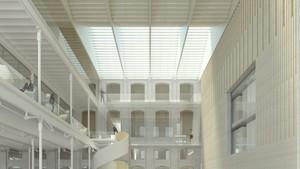 Proyecto de la nueva sede del Archivo Municipal de Barcelona