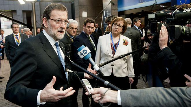 Rajoy, després de la cimera europea: El que es pretén fer a Crimea, el referèndum, és il·legal
