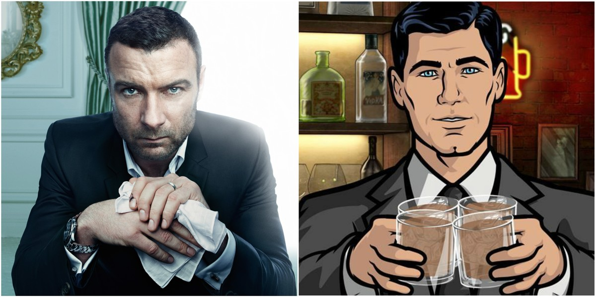 Ray Donovan y Archer.