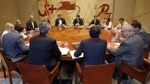 Reunión de Govern del pasado 25 de julio.