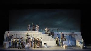 Una escena de Dido and Aeneas, deHenry Purcell, en una nueva producción del Festival de Aix-en-Provence.