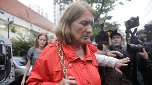 Rosa Margarita Martínez, cuñada de la turista española fallecida en Río de Janeiro, contradice la versión policial.