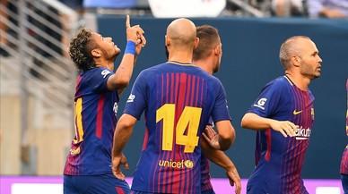 Neymar aún sigue en el Barça