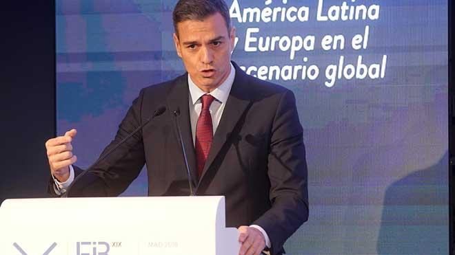 Sánchez: La democracia no es solamente el voto, es el imperio de la ley.