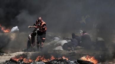 El Ejército israelí mata a cuatro palestinos y hiere a más de 600 en nuevas protestas en Gaza